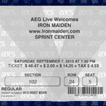 Original scan on left, customizable ticket template on right. I recreated the watermark so I could type on top of it. Not intended for fraud, merely to display e-tickets alongside printed ones in a collage.