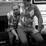 Caleb J Ross gets a passive lapdance from Edward j Rathke