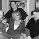 with Linda Feltner (thanks for the pics!), Roger Sarao, Sean Ferguson