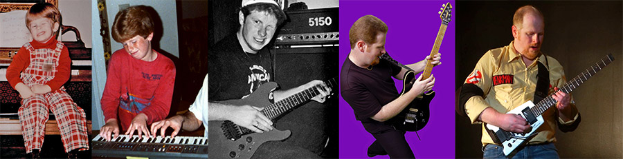photo collage of Van Halen imitation