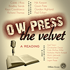 Flyer for a reading event at the 2010 AWP conference in Denver