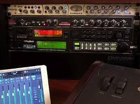 Eureka and dbx mic pres, T.C. G-Major, DigiTech Studio Quad v2, Logic Remote, EBow